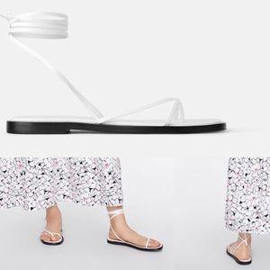 NEW! Zara lace-up sandal